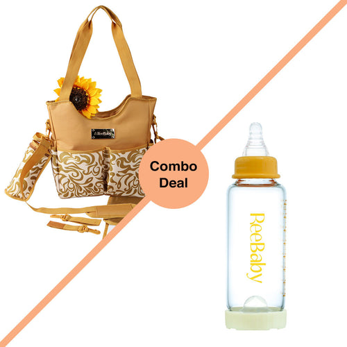 Diaper Bag & Bottle COMBO
