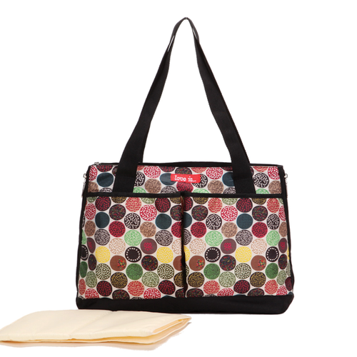 Love Is Colourful Diaper Bag