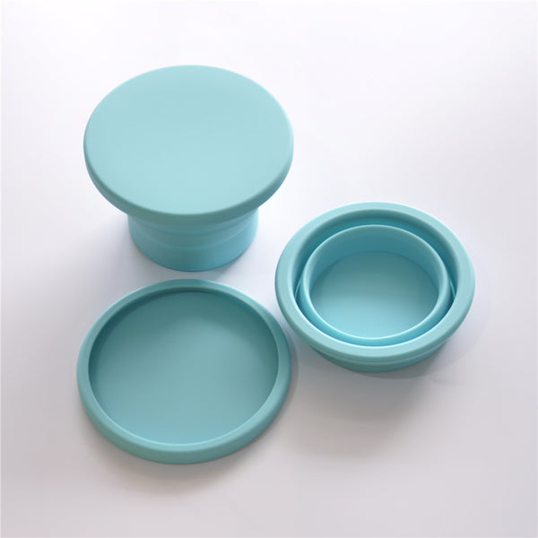 Collapsible Silicone Feeding Bowl