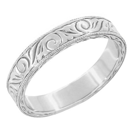 Mens Platinum Ring