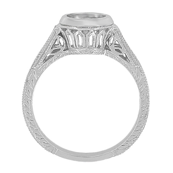 White gold jewelry vintage white gold jewelry antique jewelry mall white gold ring settings without stones aloadofball Images