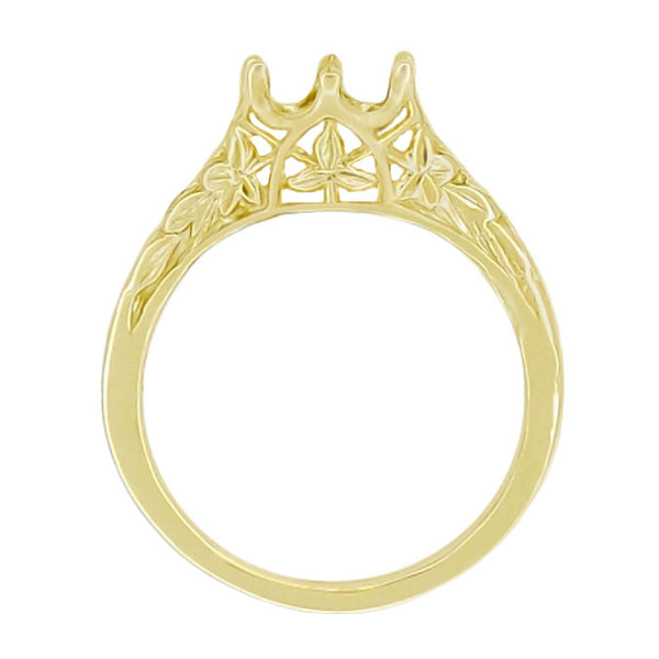 Yellow Gold Ring Setting