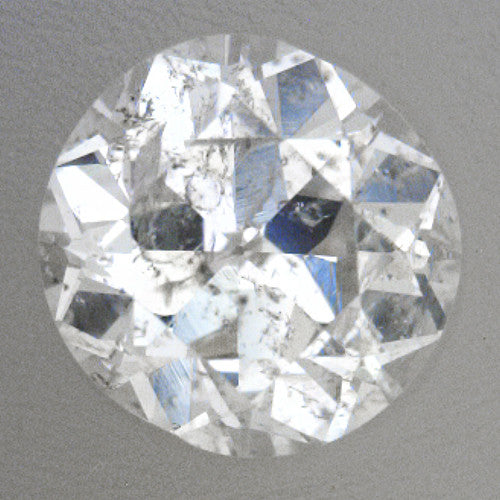 0 24 Carat Loose Cushion Cut Diamond H Color I2 Clarity