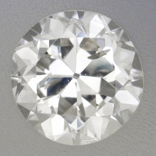 0.27 Carat Vintage Transitional Round Brilliant Cut Loose Diamond H Color SI2 Clarity