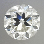 0.32 Carat Vintage Transitional Round Brilliant Cut Loose Diamond J Color VS2 Clarity