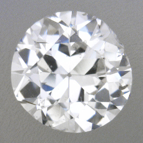 0.34 Carat Loose Vintage Transitional Round Brilliant Cut Diamond G Color SI1 Clarity