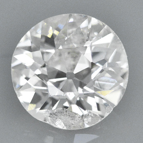0.37 Carat Loose Old European Cut Diamond H Color I1 Clarity