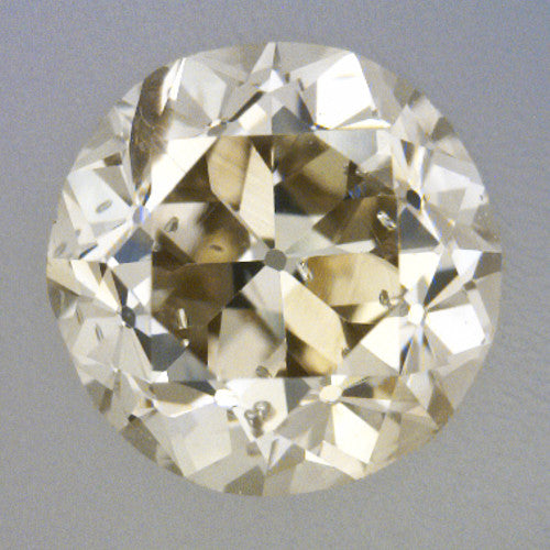 037 carat loose old european cut diamond l color si3