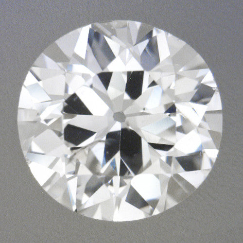 0.38 Carat Loose Vintage Transitional Round Brilliant Cut Diamond G Color SI2 Clarity