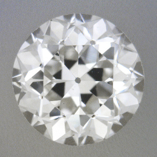 0.45 Carat Loose Old European Cut Diamond H Color VS2 Clarity