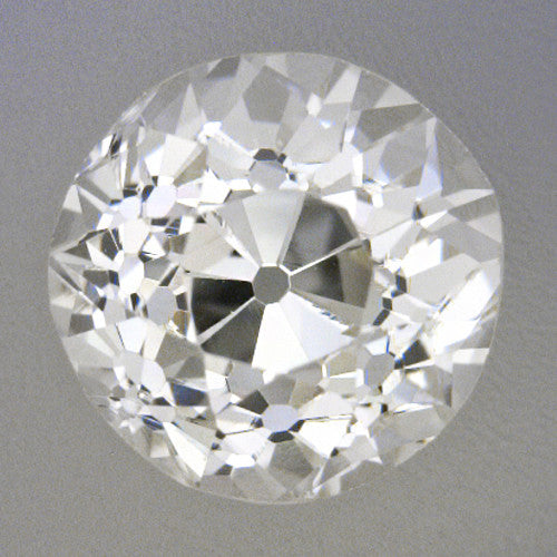 0.46 Carat Loose Old European Cut Diamond L Color VS2 Clarity