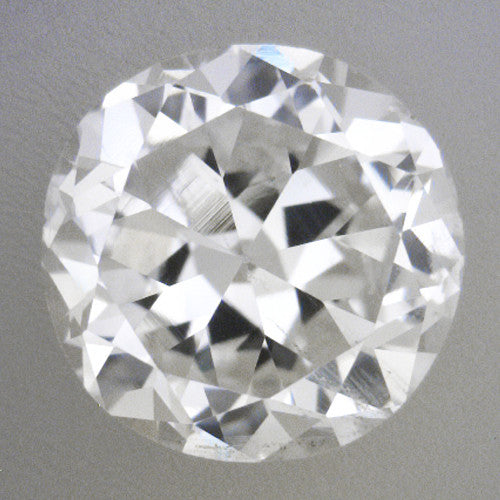 0.49 Carat Vintage Transitional Round Brilliant Cut Loose Diamond G Color SI1 Clarity