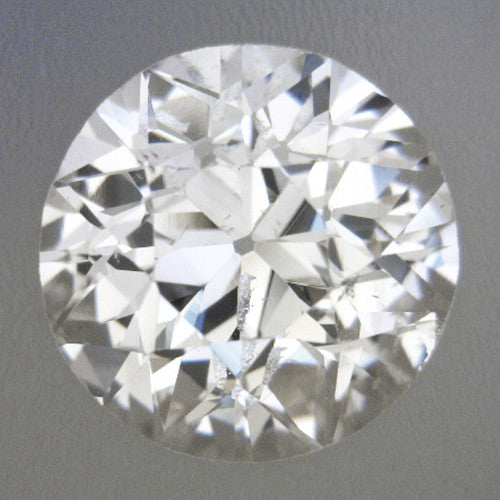0.53 Carat Loose Old European Cut Diamond G Color SI1 Clarity