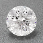 0.38 Carat Affordable Loose Round Hearts and Arrows Diamond F Color I1 Clarity | EGL USA Certificate