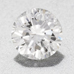 0.39 Carat Natural Loose Round E Color Diamond SI1 Clarity with EGL USA Certificate