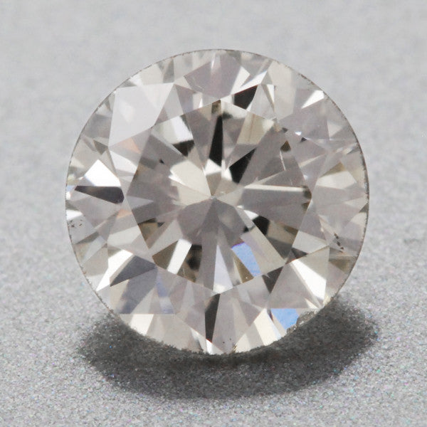 0.40 Carat K Color SI1 Clarity EGL Certified Loose Round Brilliant Cut Diamond