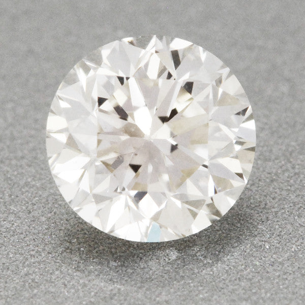 0.41 Carat K Color SI1 Clarity EGL USA Certified Loose Round Diamond