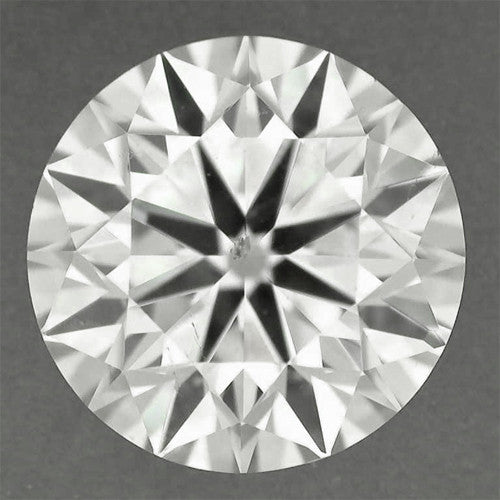 0.52 Carat H Color VS2 Clarity Loose Round Natural Diamond | Excellent Cut | EGL Certified