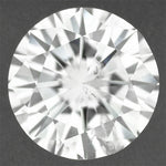 Loose Round 0.61 Carat F Color SI3 Clarity Diamond Natural and Eye Clean with Very Good Cut and EGL USA Certificate