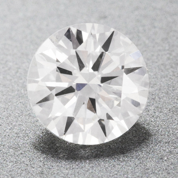0.38 Carat Natural Loose Round F Color Diamond SI1 Clarity | EGL USA Certified