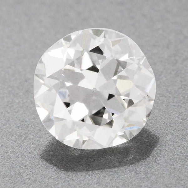 0.39 Carat G Color SI2 Clarity Loose Round Vintage Diamond | Natural Brilliance | EGL USA Certified