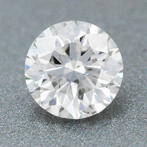 0.46 Carat Loose Round Brilliant Cut Diamond | F Color SI1 Clarity | Excellent  Ideal Cut | 100% Eye Clean | EGL Certified