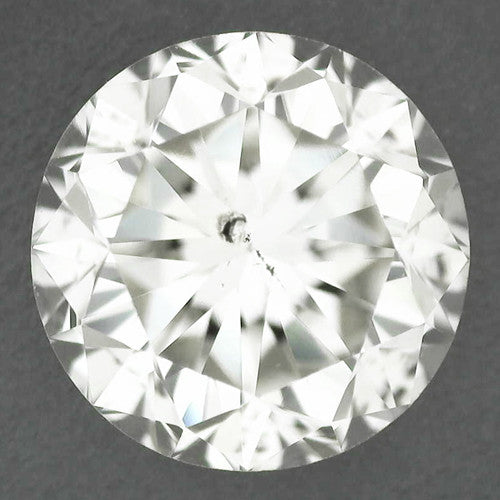 0.47 J Color SI1 Clarity Loose Round Brilliant Cut Diamond | Excellent Cut With Hearts and Arrows | EGL USA Certificate