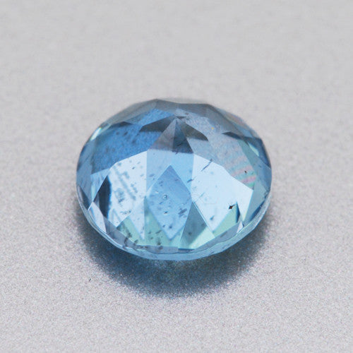 Vivid Tropical Ocean Blue Round Loose Aquamarine Stone | 0.44 Carat | 5mm - Item: AQ001395 - Image: 1