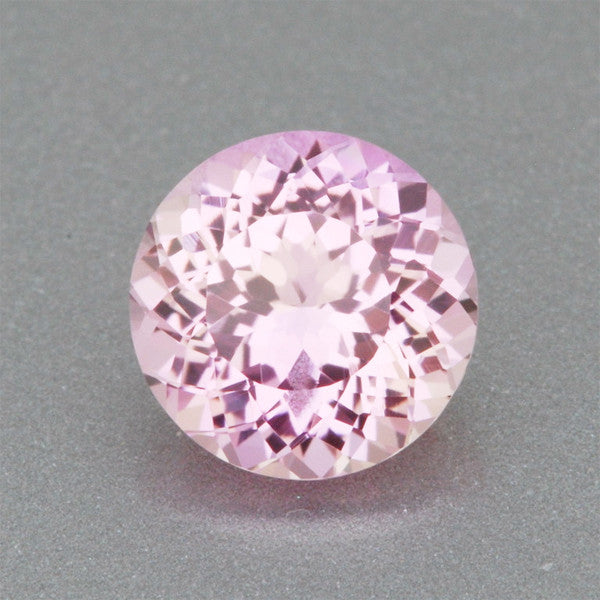 6mm Fine Loose Lab Created Carnation Pink Sapphire | 1.04 Carat Round