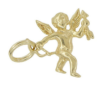Cupid Charm in 14 Karat Gold