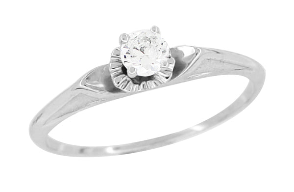 Vintage Diamond Enement Ring | Vintage Diamond Engagement Rings Antique Jewelry Mall