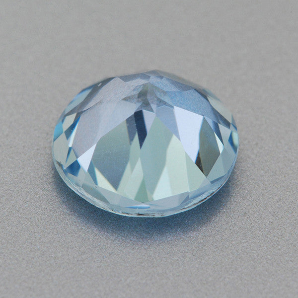 Natural Loose 1.01 Carat Aquamarine | 7mm Round Gemstone - Item: AQ003247 - Image: 1