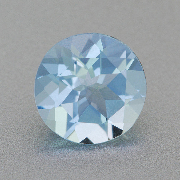 Natural Loose 1.01 Carat Aquamarine | 7mm Round Gemstone