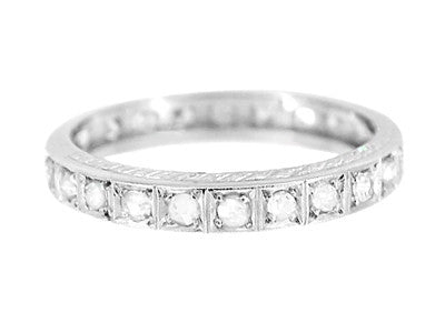 steel products silver platinum diamond az unisexs personalized bands couple cz rings stainless wedding band engraved for beydodo