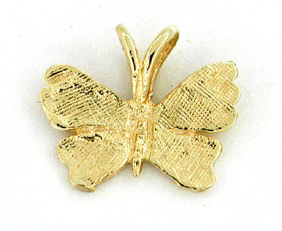 Butterfly Charm in 14 Karat Gold