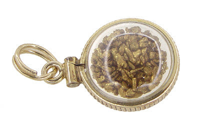 Lucky Gold Nuggets Charm - Item: C349 - Image: 1