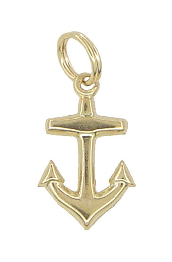 Anchor Charm in 14 Karat Gold
