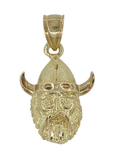 Viking Charm Pendant in 10 Karat Gold