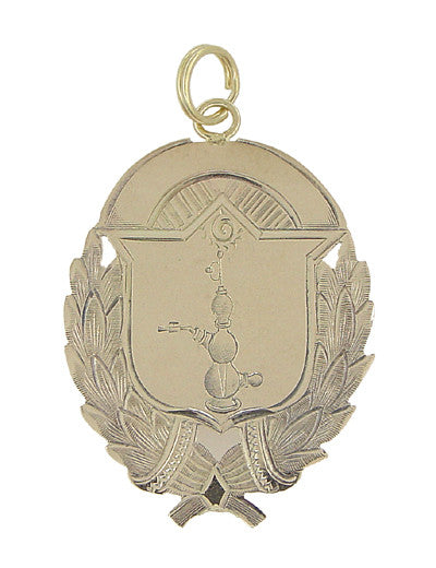 Qualitative Analysis Chemist's Award Pendant in 10 Karat Gold