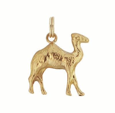 Vintage Camel Charm in 18 Karat Yellow Gold