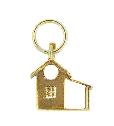 Vintage Cabin Charm in 14 Karat Yellow Gold