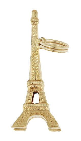 Eiffel Tower Charm in 14 Karat Gold