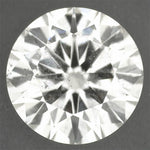 Loose 0.62 Carat I Color SI2 Clarity Round Brilliant Natural Diamond | Good Cut with EGL Certificate | Eyeclean