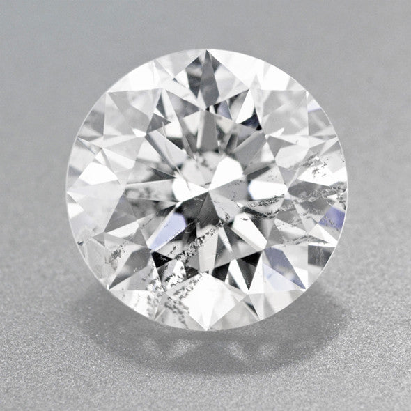 2.42 Carat - I Color - I1 Clarity - Loose Round Brilliant Cut Diamond | Very Good Cut | GIA