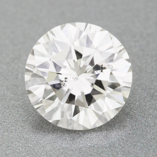 0 63 Carat Loose Round Brilliant Cut Diamond Natural H
