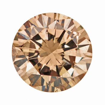 1.01 Carat Velvet Cocoa Fancy Brown Loose Diamond | Natural Color Round Brilliant SI2 Clarity