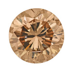 1.00 Carat Brown Sugar Color Natural Fancy Loose Brown Diamond | Round Brilliant SI2 Clarity
