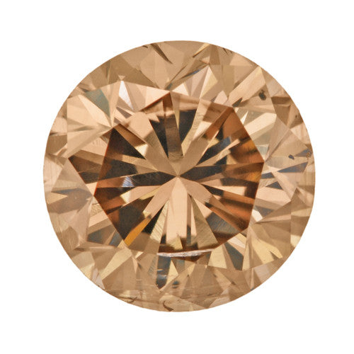 1.00 Carat Brown Sugar Color Natural Fancy Loose Brown Diamond | Round Brilliant Sl2 Clarity