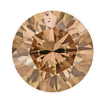 1.14 Carat Cinnamon Color Loose Natural Fancy Brown Diamond | Round Brilliant Sl2 Clarity