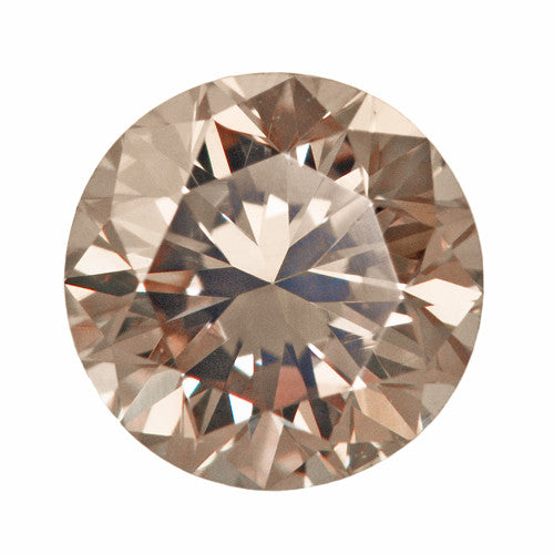 0 55 Carat Pale Apricot Color Natural Loose Fancy Light
